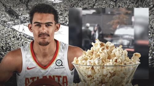 Video: Hawks rookies get cars popcorned
