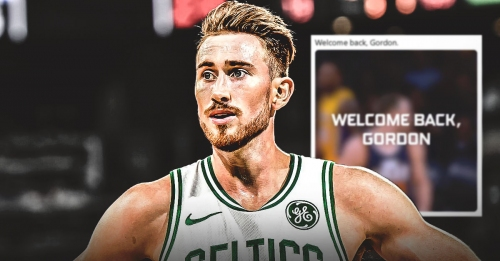 Video: Jazz welcome back Celtics' Gordon Hayward with video tribute