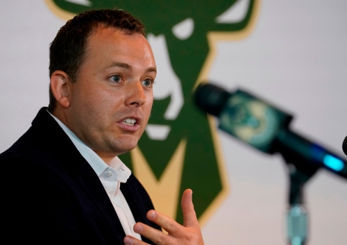 General manager Jon Horst pays a visit to ESPN's 'The Jump' to discuss the buzzy Milwaukee Bucks