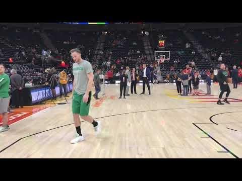 Boston Celtics vs. Utah Jazz: Brad Stevens says Gordon Hayward's 'extra emotions attached to this' are human