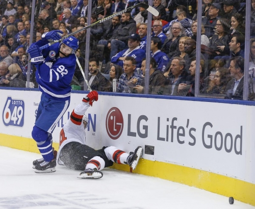 Game Centre: Offence clicks as Maple Leafs take down Devils