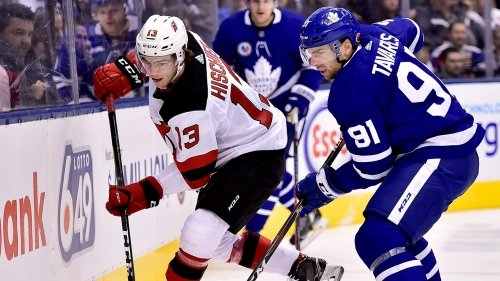 Maple Leafs rely on balanced scoring to dump Devils