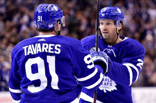 Leafs use balanced attack to dump Devils in Hall of Fame game