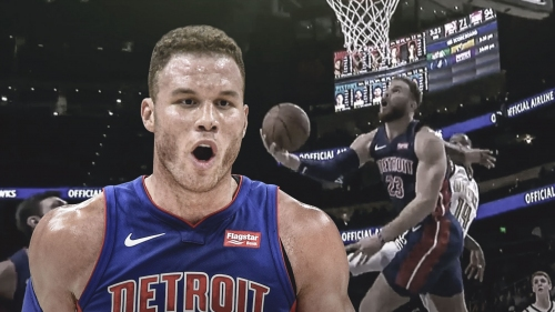 Video: Pistons star Blake Griffin shows off entire package with uber-athletic move