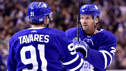 Maple Leafs dismantle Devils for first back-to-back home win