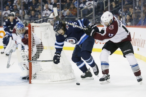 Avs losing streak now at five games after falling to Jets
