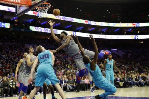 Joel Embiid has 42 points, 18 rebounds in 76ers' OT win