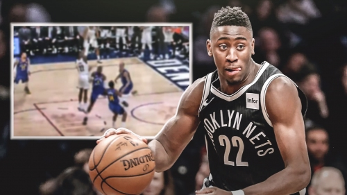 Video: Nets' Caris LeVert sinks game-winner to beat Nuggets