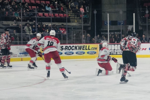 Michael McLeod Leads Binghamton Devils 4-3 Win Over Charlotte Checkers