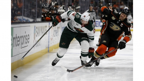 Ducks start slowly, then taper off during lackluster loss to Wild