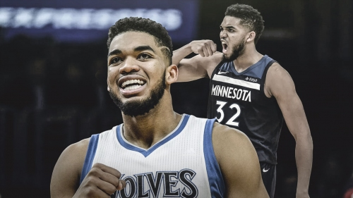 Timberwolves star Karl-Anthony Towns becomes fastest to 5,000 points and 3,000 rebounds