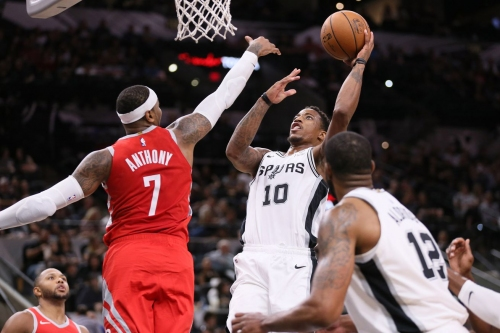 Game Preview: Spurs vs. Rockets