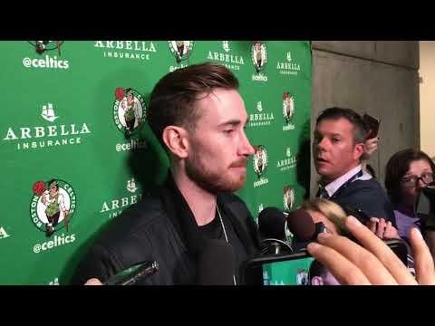 Boston Celtics' Gordon Hayward anticipated, dreaded return against Utah Jazz | Tom Westerholm