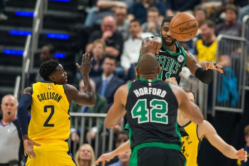 Boston's most lethal offensive weapon: the Al Horford-Kyrie Irving pick-and-pop