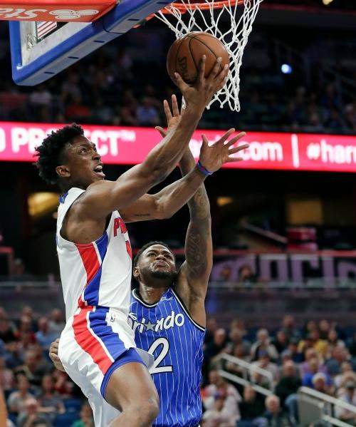 Detroit Pistons, Reggie Jackson boost Stanley Johnson: 'He's made for this'
