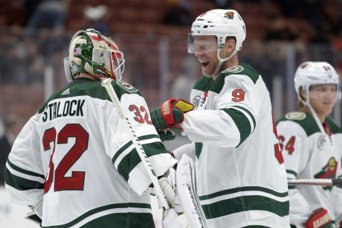 Wild dominate Ducks with 5-1 win