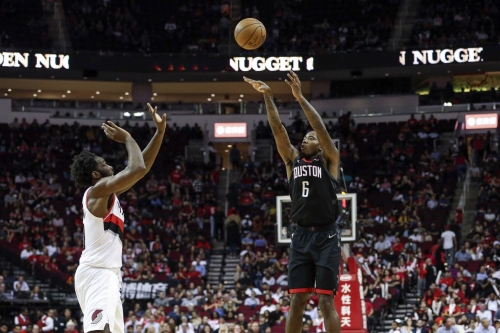 Gary Clark has been a pleasant surprise for the Rockets