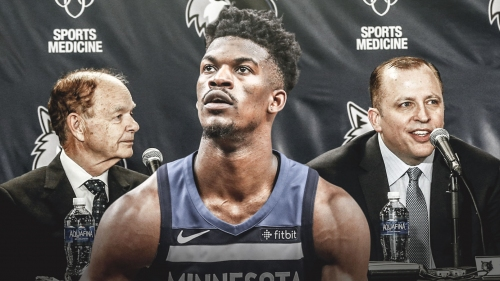Jimmy Butler's NSFW reaction to playing 41 minutes