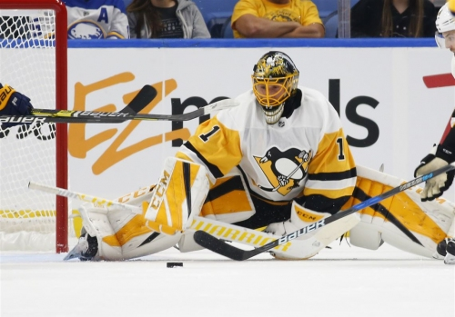 Penguins to start Casey DeSmith over Matt Murray for a second straight game