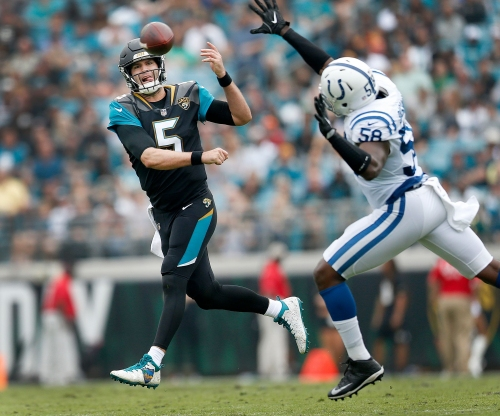 Can the Colts stop Blake Bortles? Really, can they?