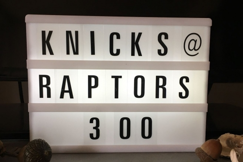 Game Preview: Knicks at Raptors - 11/10/18