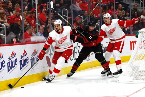 Detroit Red Wings vs. Carolina Hurricanes: Updates, Lineups, Keys to the Game