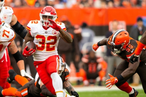 Five NFL daily fantasy plays for Week 10, and the Chiefs' pick of the week