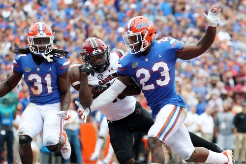 South Carolina misses opportunity, blows lead late in frustrating 35-31 loss to No. 15 Florida