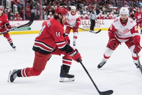 Canes vs. Red Wings: Game Night Hub