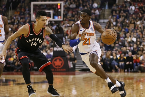 Raptors 128, Knicks 112: Scenes from one of the biggest mismatches in basketball