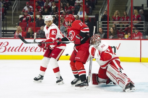 Gamethread: Red Wings at Hurricanes