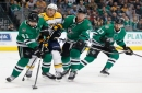 Lack of depth, unfamiliarity spell trouble for Stars in loss to NHL-best Predators