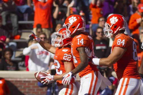 College Football Late Saturday: #2 Clemson and #17 Boston College Clash