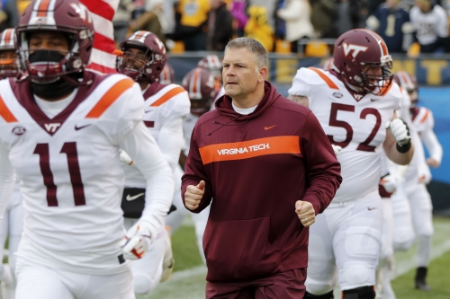 Virginia Tech defensive end Houshun Gaines could be done for the season
