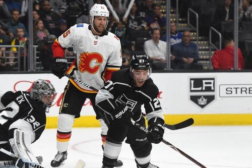 Calgary Flames at Los Angeles Kings [Game 17]