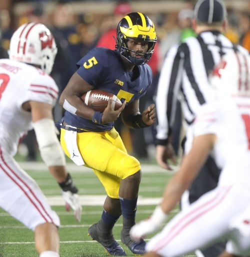 Michigan football: Brandon Peters, Joe Milton share backup QB job