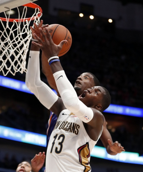Without key starters, Pelicans still cruise by Suns 119-99