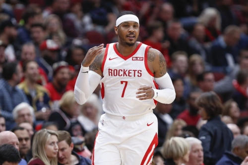 Carmelo Anthony, Rockets May Be on the Outs