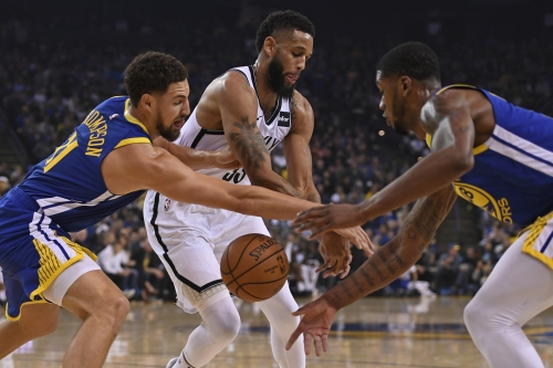 Warriors, 116, Nets, 100: Warriors hold it down without Stephen Curry, Draymond Green