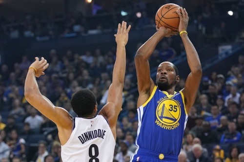 No Steph, no problem: Nets blown out in Golden State, 116-100