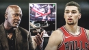 Video: Bulls' Zach LaVine pulls off a Michael Jordan-like reverse layup vs. Cavs
