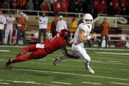 Texas ends slump, outlasts Texas Tech, 41-34: Post-game celebration thread