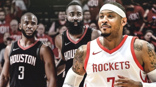 Carmelo Anthony won't be let go by Rockets amid clear struggles