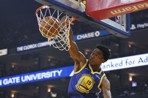 Warriors blast Nets, 116-100