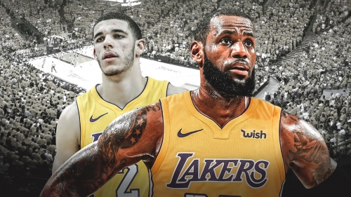 Video: LeBron James, Lonzo Ball, JaVale McGee connect for Lakers' Showtime-like play