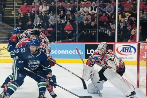Dominate Play in Binghamton Devils Win Over Utica Comets