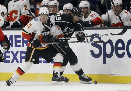 Kings shut out for this time this season by Flames