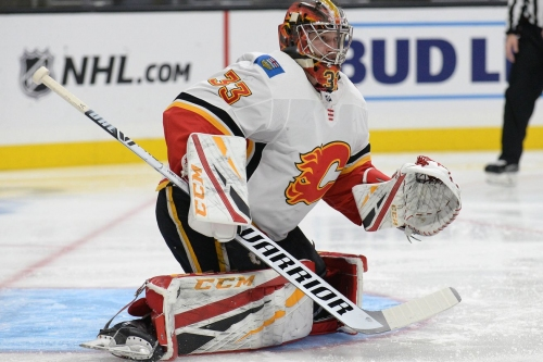 Rittich with a 21-save shutout in the Kings house