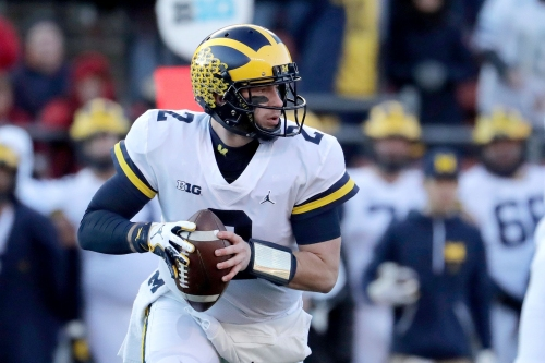 Michigan: Shea Patterson's skills on the run is reason to get excited