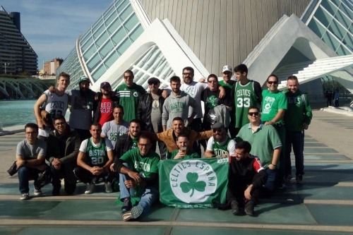 A weekend with the Celtics fans of Spain